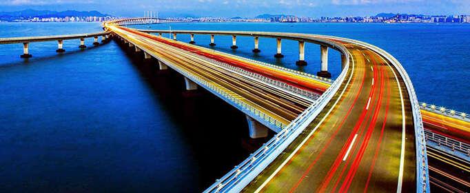 為什么很多跨海大橋要建成曲線?