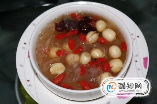 红枣莲子汤做法