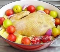 李子果香鸡汤