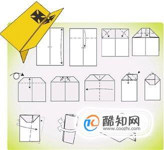 12款紙飛機折法圖解