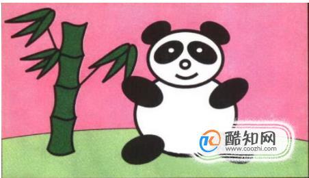 熊貓簡筆畫畫法