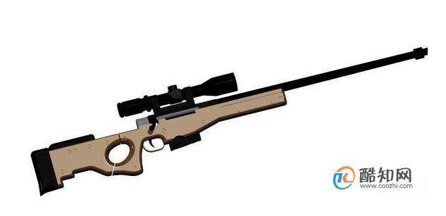 AWM狙击枪怎么画?