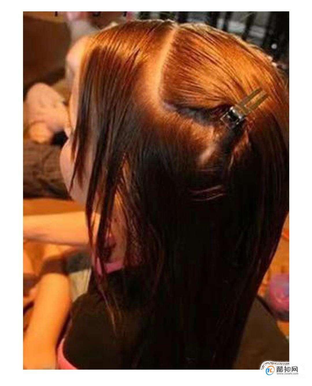 女童发型绑扎方法100图