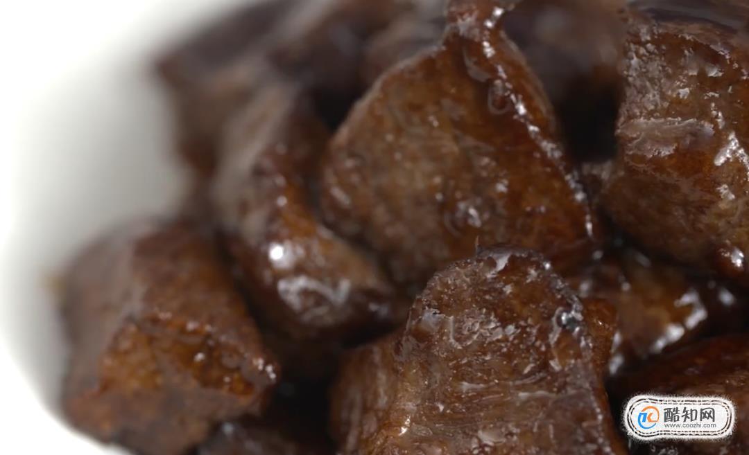 黑椒牛肉粒的做法