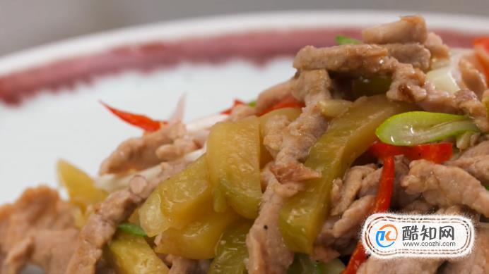 榨菜炒肉絲怎么做?