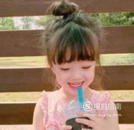儿童发型图片 小女孩发型绑扎方法简单又可爱