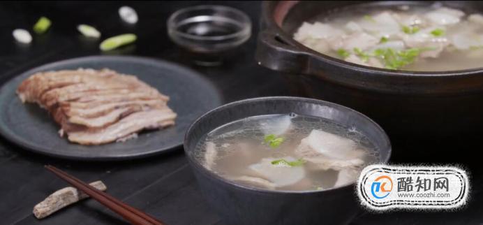 白切羊肉汤怎么做?