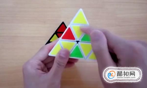 三角魔方教程图解