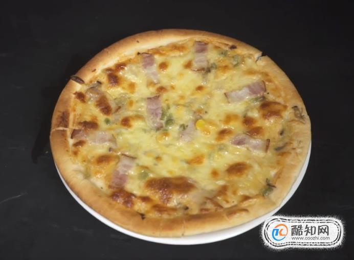 成品披萨的烤法