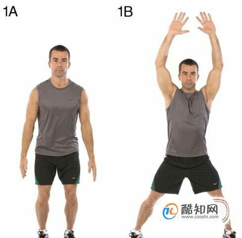 教你幾組常用熱身運動方法