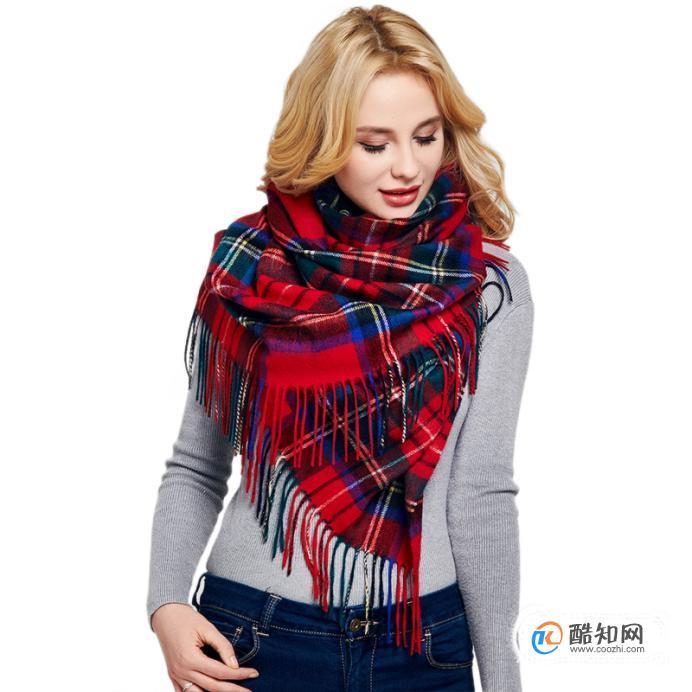 披肩怎么系好看,十二種系法讓你美翻這個冬天