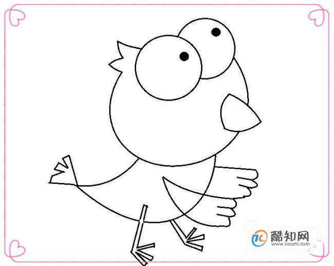 怎样画动物简笔画