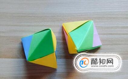 手工折纸粽子的折法