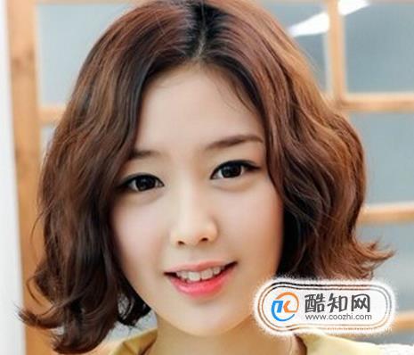 蛋卷头短发发型,潮流韩式发型