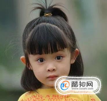 儿童发型扎法 小女孩发型扎法步骤