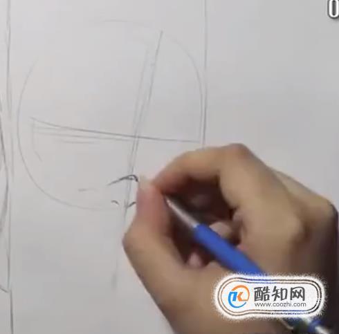 怎樣用鉛筆簡單手繪火影帶土