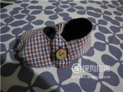 寶寶丁字布鞋的裁剪圖鞋樣尺寸與做法
