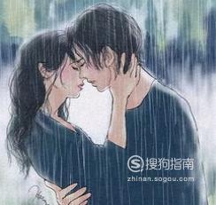 接吻时男孩手的动作表示什么意思