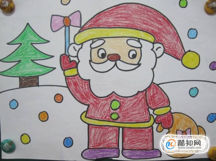 圣誕節兒童畫怎樣畫?