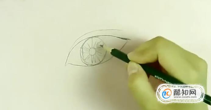 眼睛素描教程
