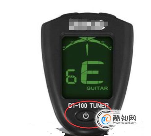 如何正確使用調音器給吉他調音