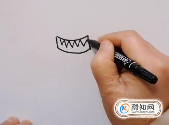 兒童畫大全之病毒的畫法