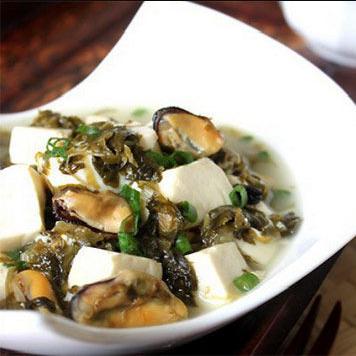 咸菜烧豆腐的歇后语是什么?