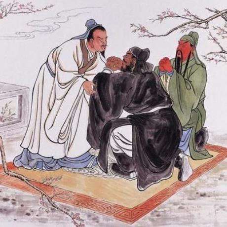 刘关张桃园三结义歇后语的下一句是什么?