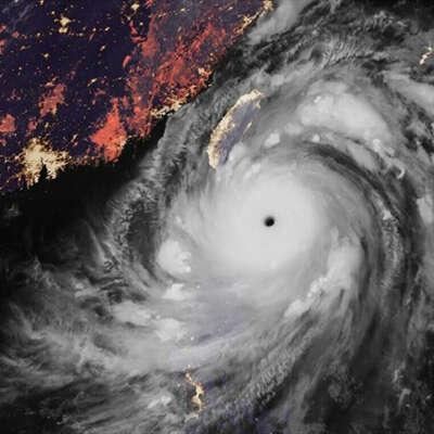 台风风力最大的部位是哪?