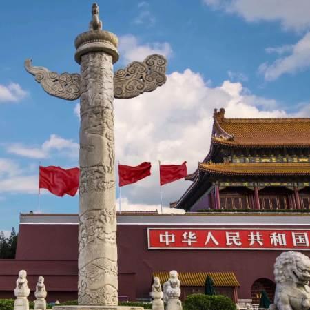 天安城门旁边的柱子叫什么?
